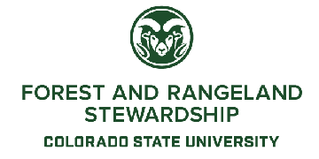 Colorado State University/Department of Forest and Rangeland Stewardship logo